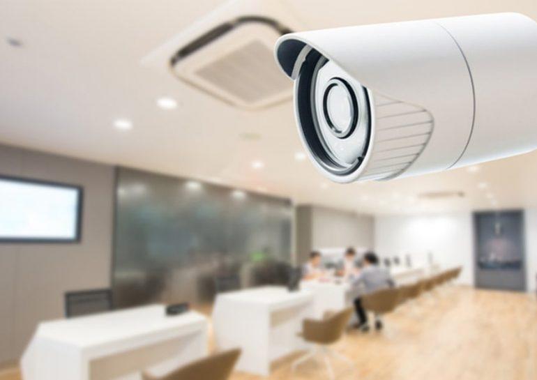 Ofislərə təhlükəsizlik kameralarının quraşdırılması