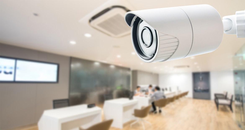 Установка камер видеонаблюдения и систем безопасности в офисах.